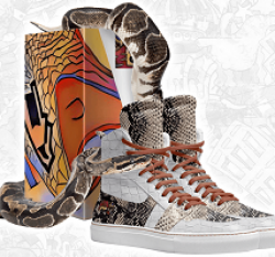 Kobrahla Sneakers Sweepstakes prize ilustration