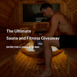 Ultimate Sauna & Fitness Giveaway prize ilustration