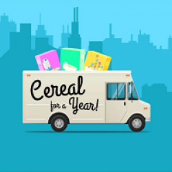 CrunchCup Cereal for A Year Sweeps prize ilustration