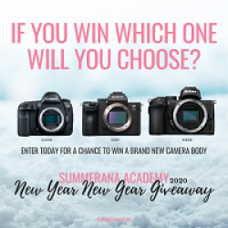 Summerana Camera Gear Giveaway prize ilustration