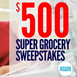 Super Grocery Giveaway prize ilustration
